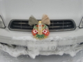 お正月の注連飾り(車用)