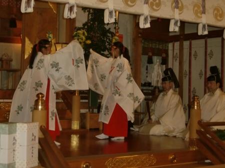 平成26年 歳旦祭(豊栄舞)