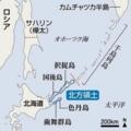 北方領土地図