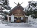 平成26年2月 拝殿