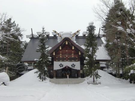 上川神社 拝殿