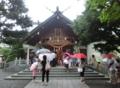 平成26年 西野神社 七夕まつり(拝殿前)