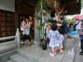 平成26年 西野神社 七夕まつり(拝殿向拝)