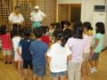 平成26年8月 子供神輿練習