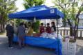 平成26年 秋まつり 境内での野菜・果物販売