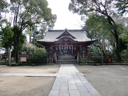 飯香岡八幡宮 拝殿