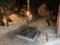 平成27年元日 西野神社境内の篝火