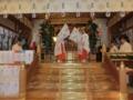 平成27年元日 西野神社 歳旦祭