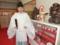 平成27年正月 西野神社 渡り廊下(田頭権禰宜)