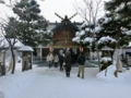平成27年正月 西野神社(拝殿)
