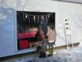 平成27年正月 西野神社(神楽殿)