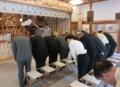 現代神社と実務研究会 研修旅行(西野神社参拝)