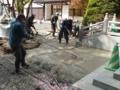 平成27年5月 創祀130周年記念事業(第一駐車場整備)