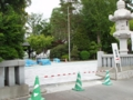 平成27年6月 創祀130周年記念事業(第一駐車場整備)