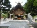 西野神社拝殿(七夕仕様)