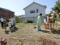 西野神社神職奉仕による地鎮祭