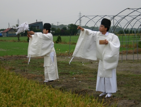 北海道神社庁札幌支部 穂刈祭