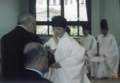 女子神職装束(京都國學院校舎にて)