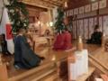 西野神社創祀130年臨時大祭(祝詞奏上を終えて)