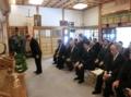 西野神社創祀130年臨時大祭(参列者玉串拝礼)