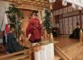 西野神社創祀130年臨時大祭(次に斎主一拝)