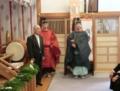 西野神社創祀130年臨時大祭(総代長挨拶)