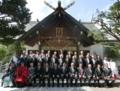 西野神社創祀130年臨時大祭(参列者一同)