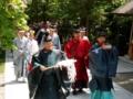 西野神社創祀120年記念式典(参道渡り初め)