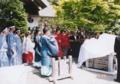西野神社創祀120年記念式典(記念碑除幕式)