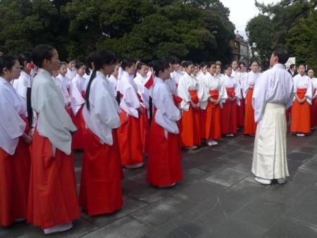 平成24年2月 巫女のための神宮研修会