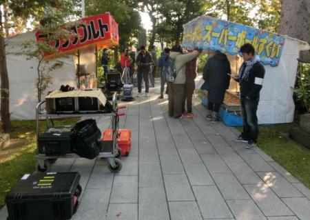 ドラマ「Angel Destiny(仮)」 西野神社ロケ