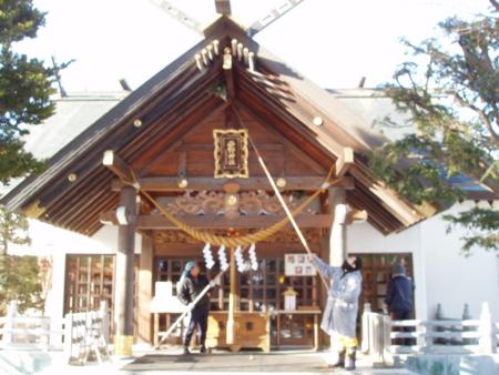 平成27年12月 西野神社煤払い