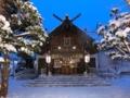 平成27年末 西野神社の社殿