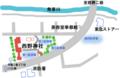 西野神社 駐車場案内図