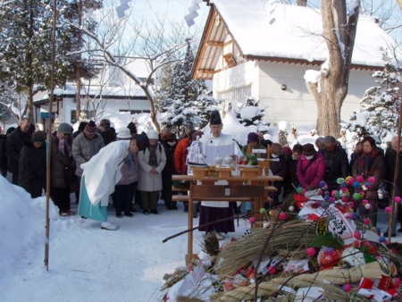 平成28年 西野神社 古神札焼納祭