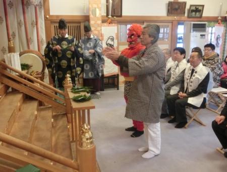 平成28年 西野神社節分祭