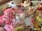 人形供養祭に向けて各地から西野神社に集結するぬいぐるみ達