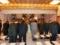 西野神社への正式参拝(鹿島神宮氏子青年会かなめ会)