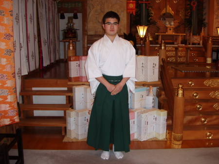 西野神社 門出仕