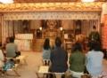 西野神社での御祈祷の様子