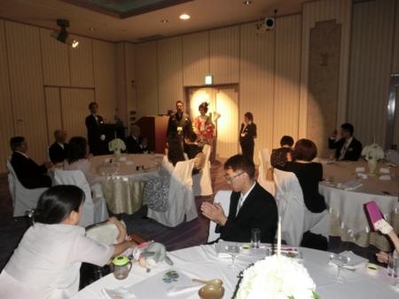 結婚披露宴(ホテルリガーレ春日野)