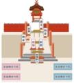 春日大社 結婚式祭場図