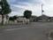 神社斜め向かいの臨時駐車場