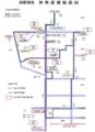 平成28年 西野神社渡御順路図