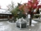 札幌の初雪 (平成28年10月 西野神社境内)