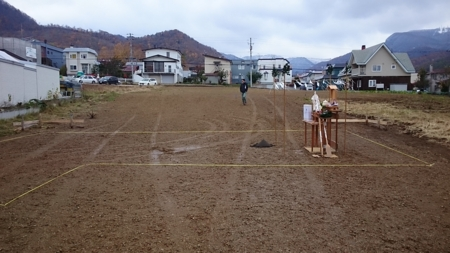 地鎮祭(札幌市西区)
