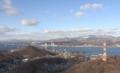 室蘭市・測量山展望台からの風景