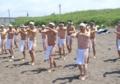 平成19年6月 北海道神宮さざれ石会・ボーイスカウト 合同禊(石狩浜)