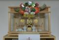 お正月飾りの実例(神棚)