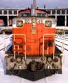 お正月飾りの実例(機関車)